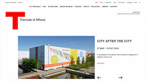 La Triennale di Milano offical website