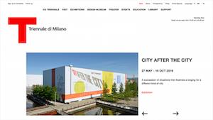 La Triennale di Milano offical website