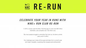 Nike+ Run Club Re-Run