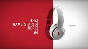 Beats by Dr. Dre 'The Game Starts Here'