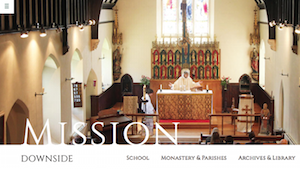 Downside Abbey and School - Website Design and Build