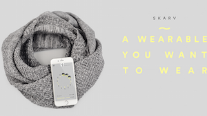 SKARV - a wearable you actually want to wear
