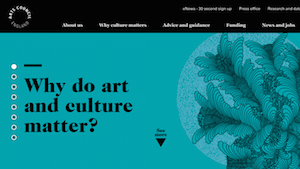Launching The Arts Council England Online