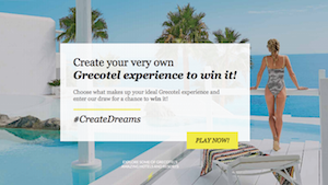 Create Dreams Campaign Website
