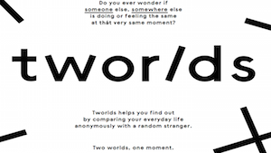 Tworlds - Two worlds, one moment.