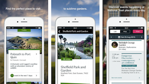 National Trust mobile app
