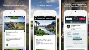 National Trust mobile app