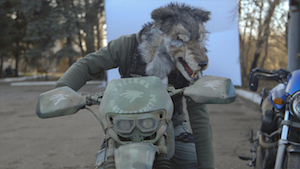 The Night Wolves: Putin's motorbiking militia of Luhansk