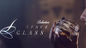 Ballantine's Space Glass