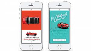 Citroën E-Méhari - Facebook Immersive Canvas